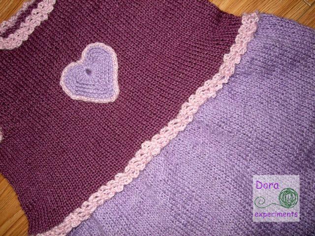 Dora experiments: 40. Sukienka z serduszkiem / The Heart Dress