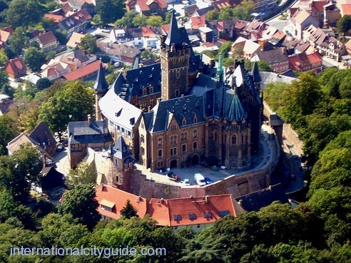 Wernigerode Castle, Wernigerode, Harz Mountains, Germany