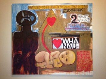 Whanau by Robyn Kahukiwa