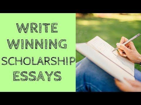 (2) Write Winning Scholarship Essays - YouTube
