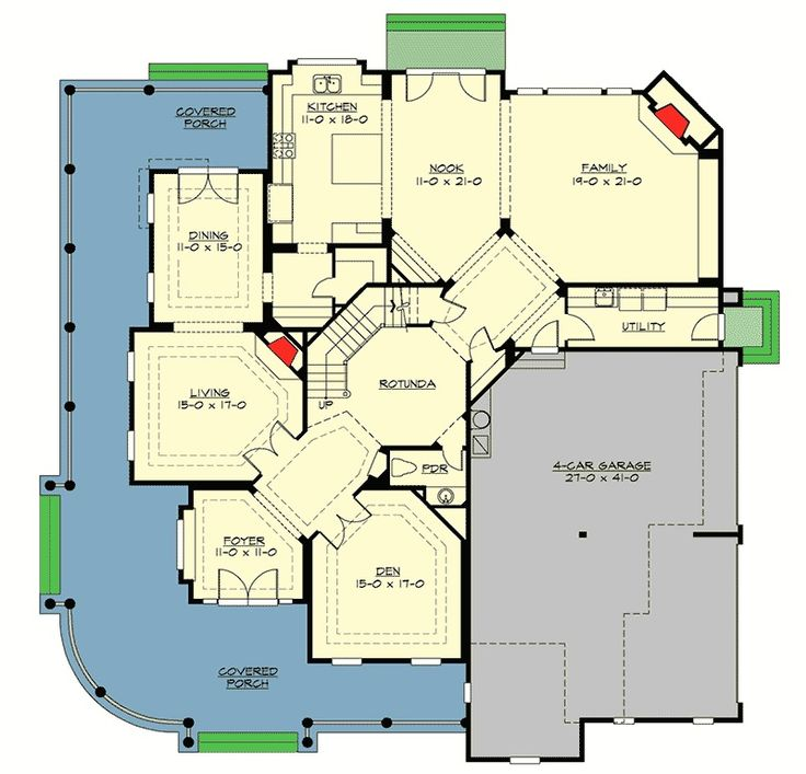 385 Best Images About Cool House Plans On Pinterest