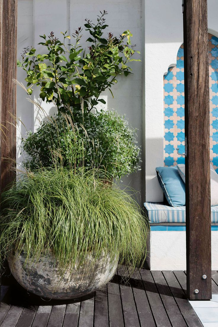 Step inside this Moroccan-inspired inner-city apartment garden: Photos