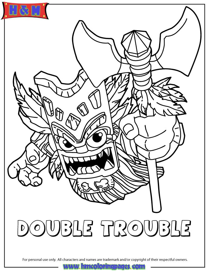 skylanders coloring pages terrafin restaurant - photo#12