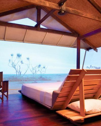 Unplugged Honeymoon Resort (no wi-fi, phones or TV!): Bamurru Plains, Australia #monogramsvacation