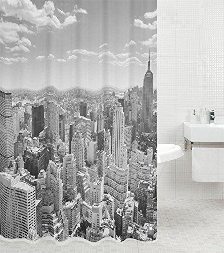Shower curtain Skyline New York 180 x 200 cm   Waterproof   Anti-Mould   High Quality   with 12 Rings Sanilo http://www.amazon.co.uk/dp/B00VKETZP6/ref=cm_sw_r_pi_dp_X1aIwb0C2K3EG