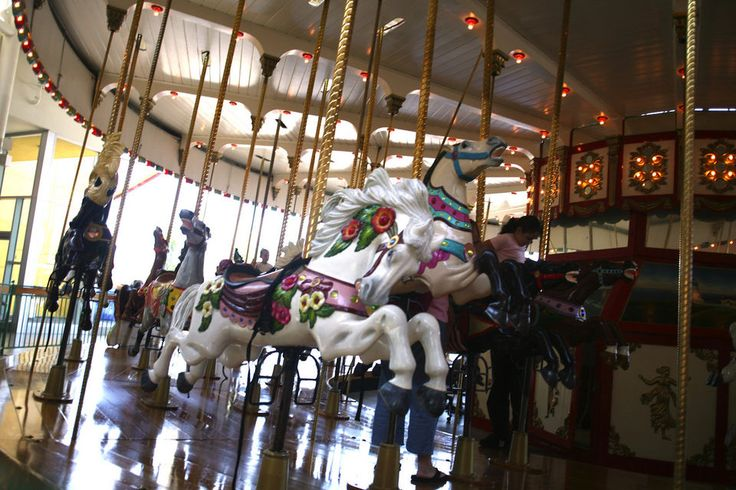 The historic Jantzen Beach carousel has been found.