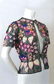1930s evening jacket