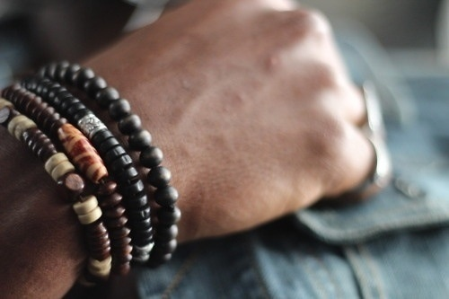 Men's beaded bracelets. | • Only mens jewelry ...