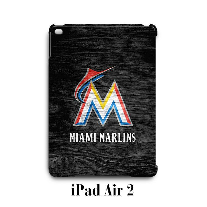 Miami Marlins Custom iPad Air 2 Case Cover Wrap Around