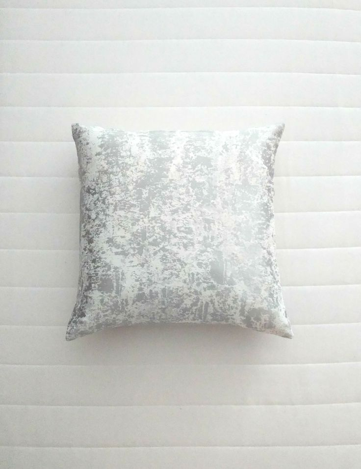 Liquid silver effect pillow. Scandinavian handmade ethical throw pillow covers. Modern muted colours home decor. Limited editions only. Shipping worldwide!   Support small businesses and say no to mass production!