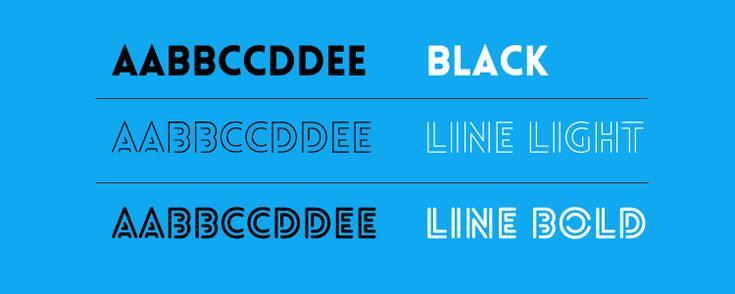 Il font di oggi è composto da due set di caratteri, un black e un inline. Si tratta del Lovelo, un sans-serif dalle linee geometriche, molto decorativo e adatto agli utilizzi più disparati.