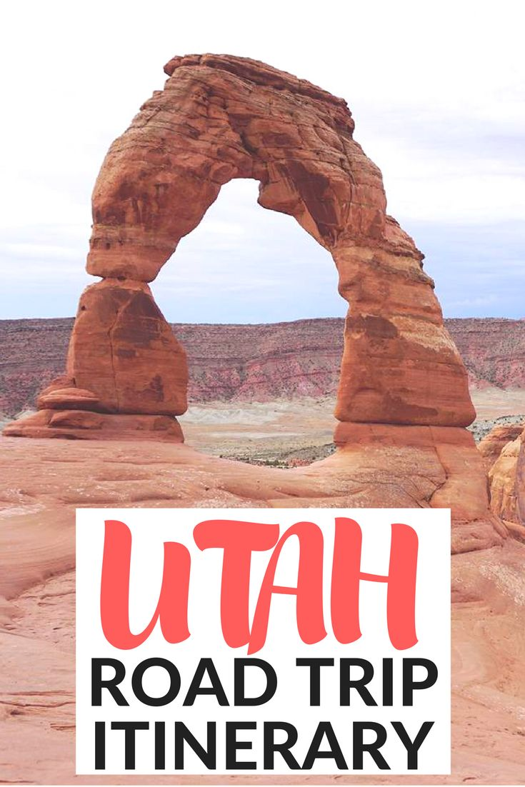 The Ultimate One Week Itinerary Exploring Utah's National Parks. Use this Utah road trip itinerary to get inspired to visit Zion National Park, Canyonlands National Park, Arches National Park, Capitol Reef National Park and Bryce Canyon National Park.