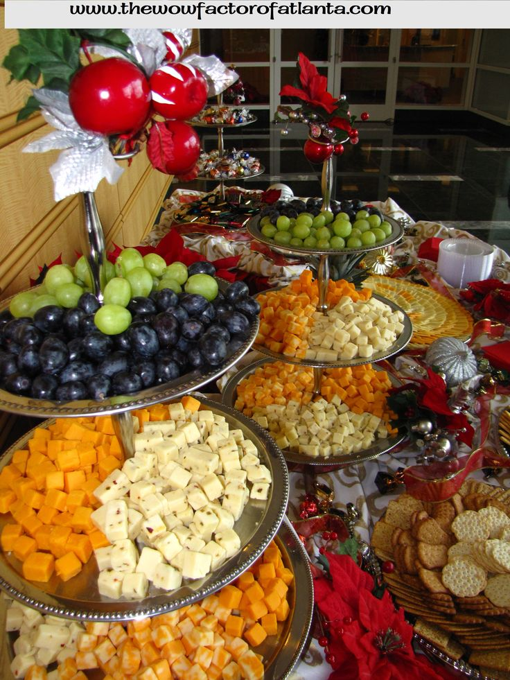 Try to serve a large assortment of cheeses so that you have something for everyone