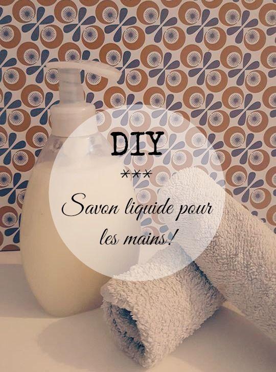 Aujourd'hui je vous propose de réaliser votre propre savon liquide pour les mains fait maison, une recette simple, pas cher et qui rend les mains douces.