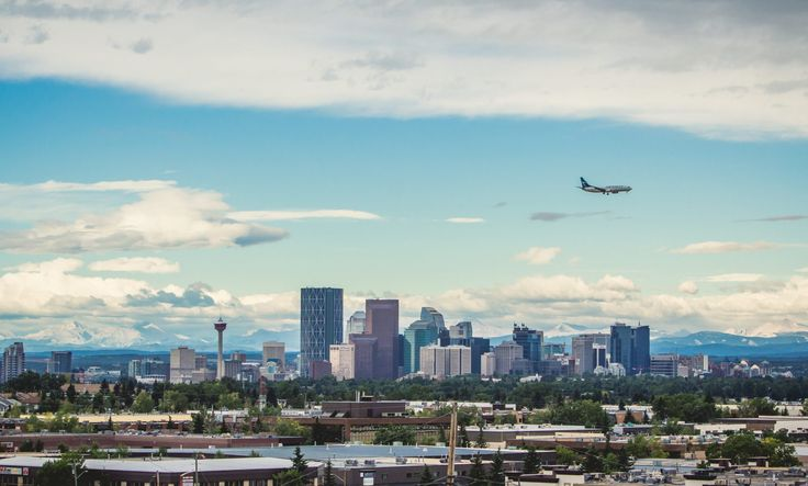 Calgary skyline @ www.visitcalgary.com
