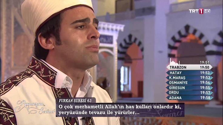 Hafız Mustafa Özyılmaz - Kuran-ı Kerim Tilaveti Aşir - Fukran (61-67)Qur...