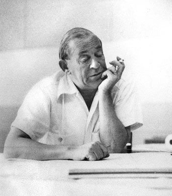 My favorite Scandinavian, Alvar Aalto-- Architect, Designer, Understander of how humans and design weave together.