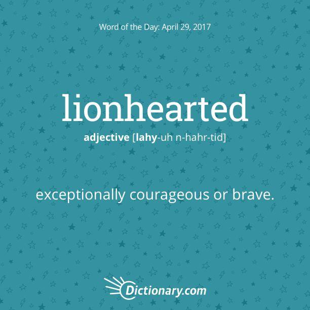 lionhearted   Lealtad