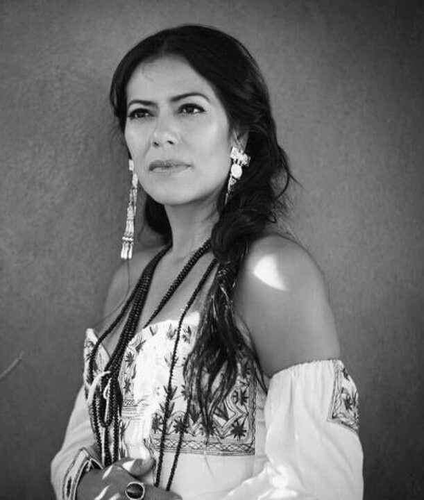 Lila Downs Sanchez, Mexican American singer songwriter, guitarist, actress, humanitarian and politician activist,born in Oaxaca. She performs her own compositions as well as popular and indigenous Mexican music.
