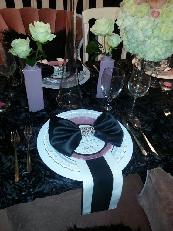 67 Best Images About Bling Plate Chargers And Napkin