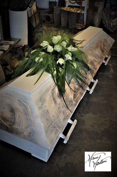 Coffin for young boy