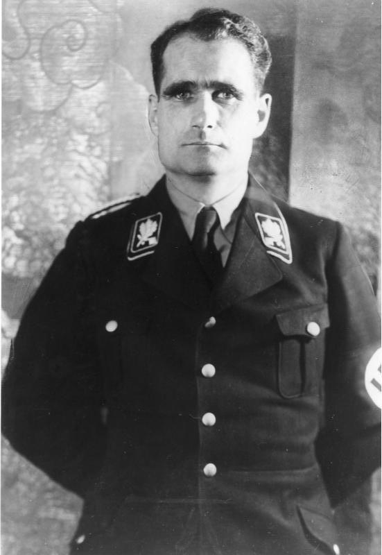 # Rudolf Hess. (Rudolf Walter Richard Hess). (n.: Alexandria-26/Abril/1894. m.: Berlim-17/Agosto/1987).