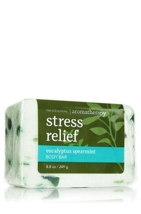 Stress Relief - Eucalyptus Spearmint Body Bar - Aromatherapy - Bath & Body Works  $7.50