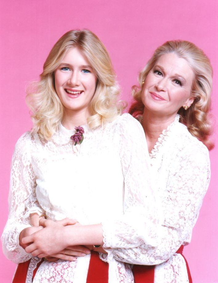 Laura Dern & mom Diane Ladd