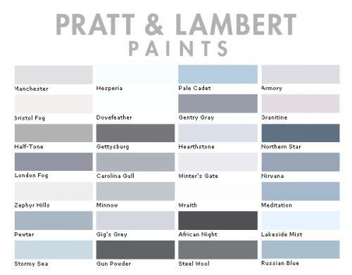 Pratt Lambert Color Collection Interior Design Swedish Pintere