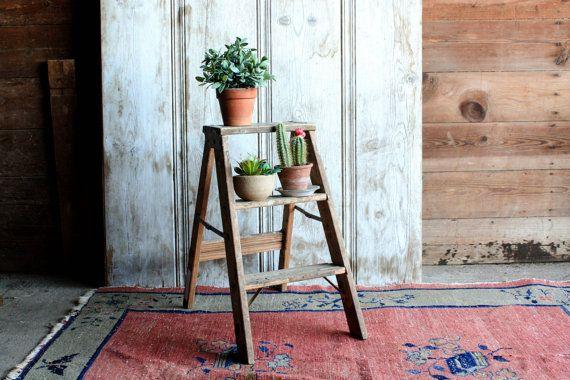 M s de 25 ideas incre bles sobre escaleras plegables en for Taburete escalera cocina
