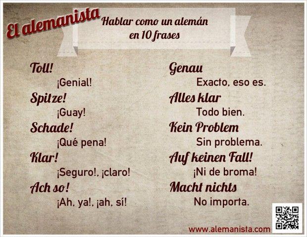 Hablar como un alemán con 10 frases