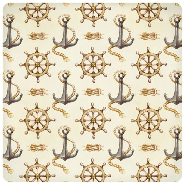 Nautical illustrations, invitations and patterns by Sundra Art, via Behance