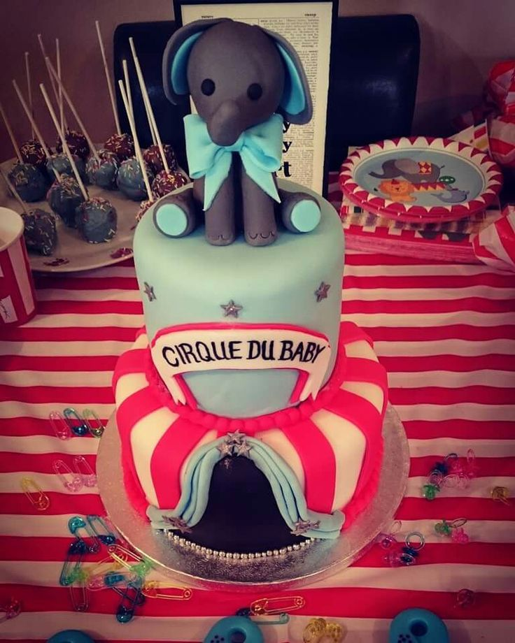 My baby shower cake from my circus theme baby shower. My sister made this cake, she is so talented!!