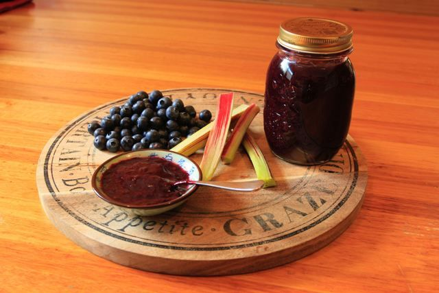 ... maple syrup preserves blueberries forward blubarb jam with blueberries