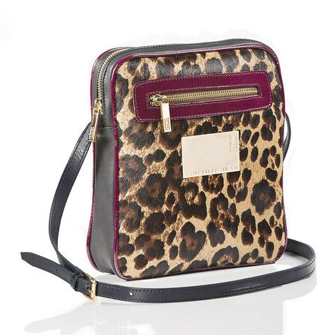 This is a fabulous Cross Body bag in leopard print, leather and a splash of colour! a must have this season! check out the other bags on www.vcdltd.com