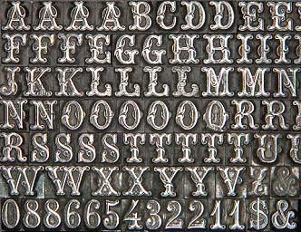 This is an example of movable typography