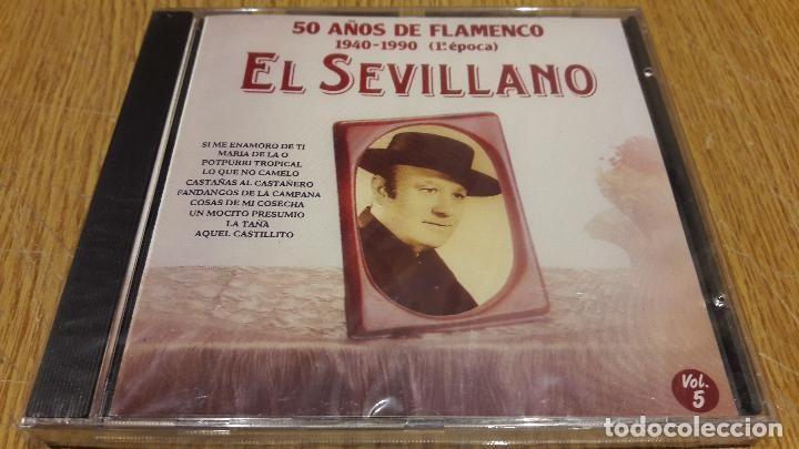 EL SEVILLANO / 50 AÑOS DE FLAMENCO 5 / CD / DIVUCSA - 1991 / 14 TEMAS / PRECINTADO.