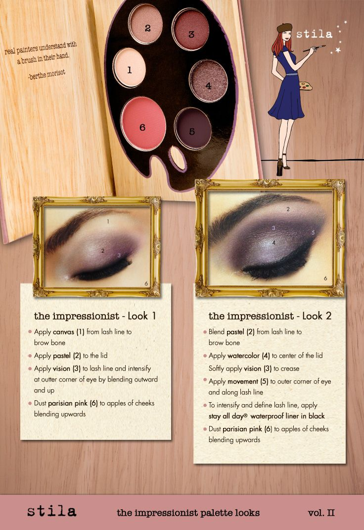 Bold and beautiful, get the Impressionist eye look from stila cosmetics new Artistry collection. #ulta #ultabeauty