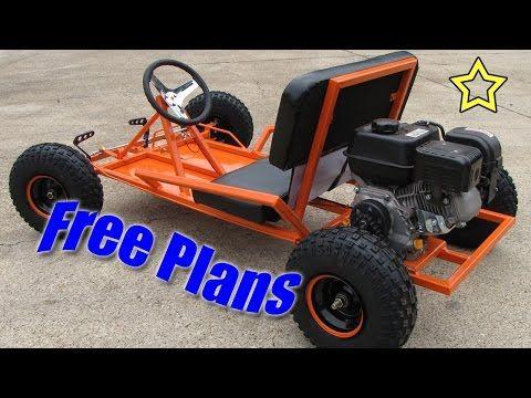 Go Kart Build Free Plans (PDF Download) - YouTube
