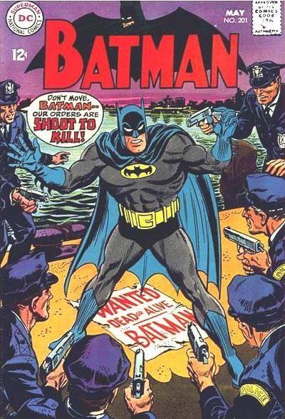 Batman #201 DC Comics