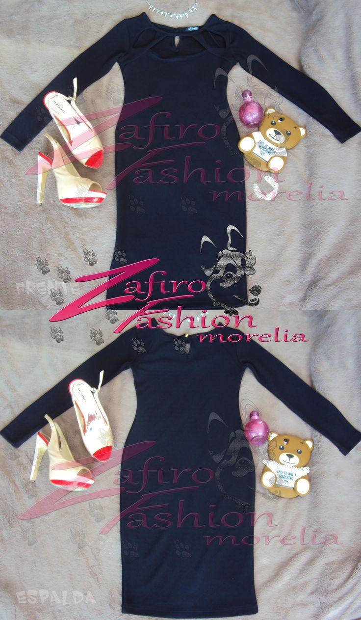 Vestido negro manga larga encuentralo en facebook en Zafiro Fashion Morelia Instagram en @steff_zafirofashion  o contactanos via whats: 4432429263 #zafirofashionmorelia #ilovezafiro #VestidoNegroMangaLarga