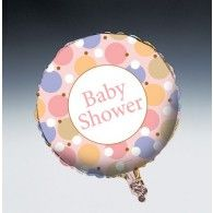 45cm Tiny Toes Pink Baby Shower Foil Balloon $9.95 (filled with Helium in store) 20047624