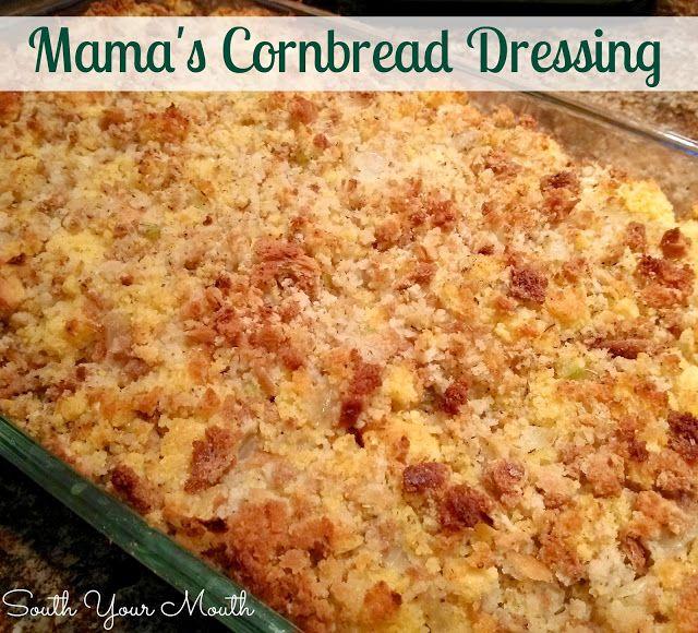 Southern Style Cornbread Dressing on Pinterest | Cornbread Dressing ...