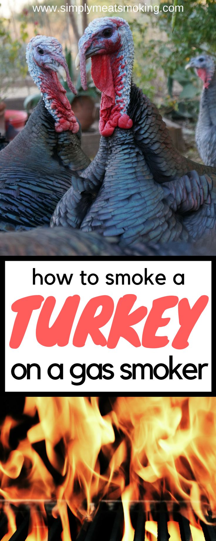 Smoking a turkey is simple! Here is how I do it on a gas smoker! | Turkey Recipe | BBQ Recipes | Gas Barbecue Recipes | Gas Smoker Recipes | Gas Grill Recipes | Best Gas Grill Recipes | Best Gas Smoker Recipes | Best Gas BBQ Recipes | Best Gas Barbecue http://grilingideas.org/best-smoker-grills/