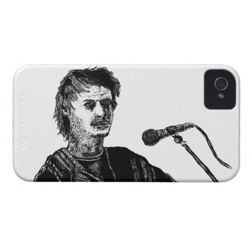 Musician at the mic Case-Mate iPhone 4 cases