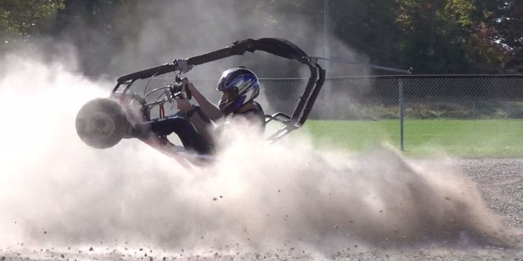 This Electric Go-Kart With 54 FT-LB of Torque Is Uncontrollably Awesome