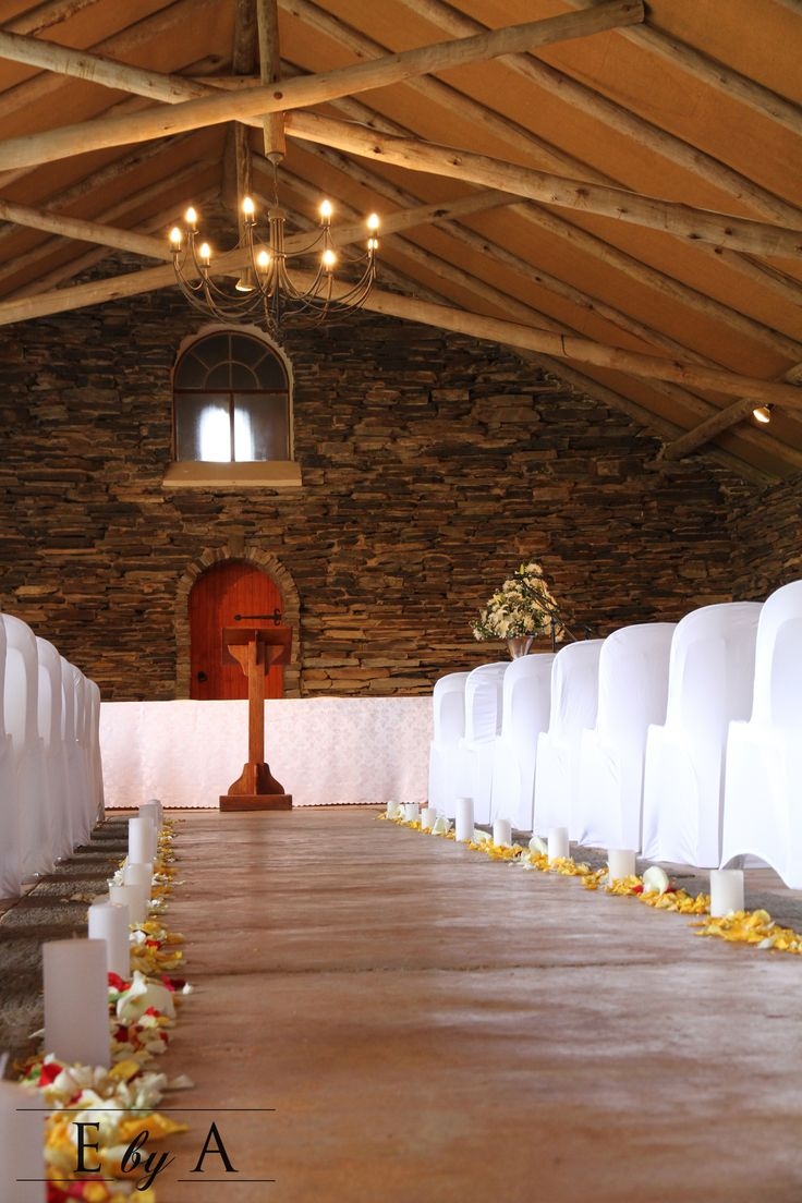 Wedding Ceremony Décor - The Secret Garden Wedding Venue  - www.ebya.co.za anne@ebya.co.za
