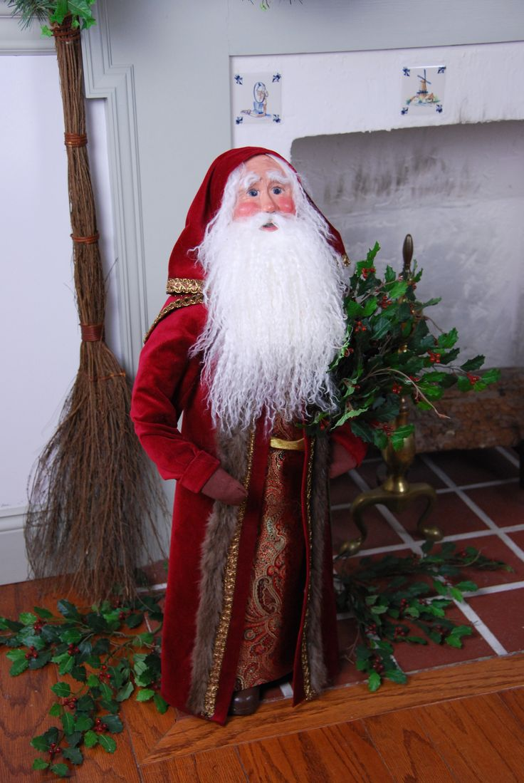 Christmas carolers figurines for sale - Byers Choice Carolers 30 Fireside Santa Carolerfigurines