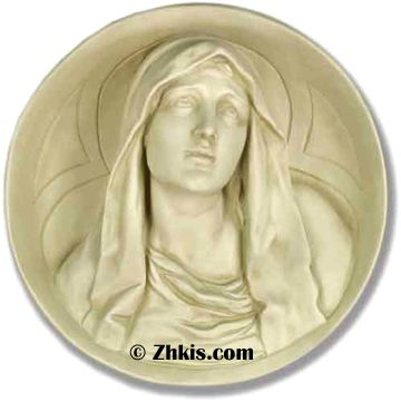 11 best Mary and Madonna Statues - Wall Plaques images on Pinterest ...