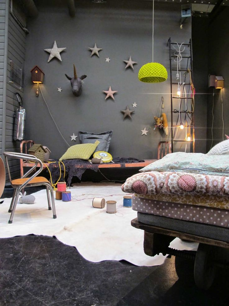 10 Dramatically Dark Kids Rooms | Tinyme Blog